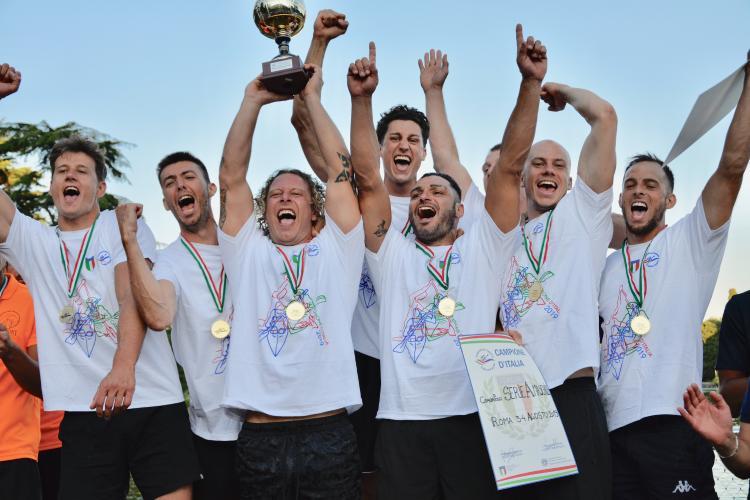 Play Off Campionato Italiano Canoa Polo - Roma, 4 agosto 2019